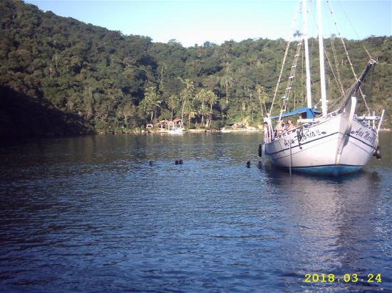إلها جراندي: excursion en barco por la isla