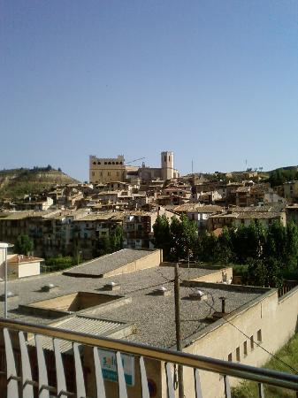 Vista de Valderrobres desde el balcón