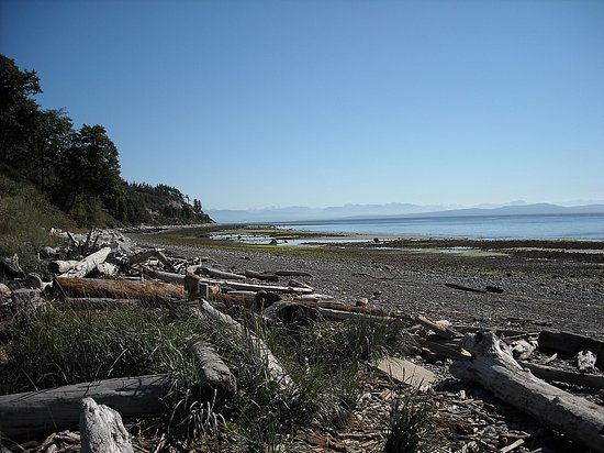 Courtenay, Canada : Goose Spit in Comox Valley