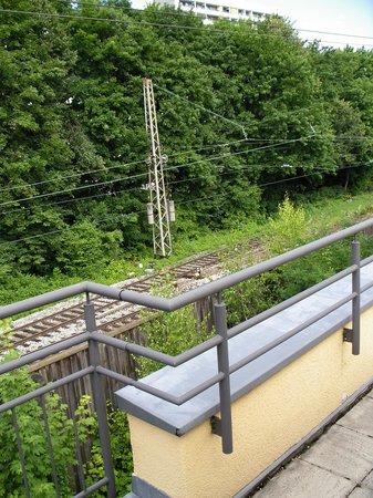 Park Inn by Radisson München Frankfurter Ring: Very convenient for railway!