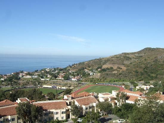 Villa Graziadio Executive Center at Pepperdine University: View from Pepperdine