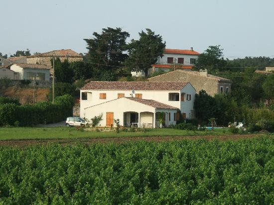 Le Gite Aux Cabardes: The house is on the edge of the village