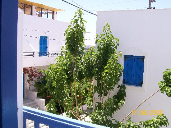 Windmill Naxos: View from balcony