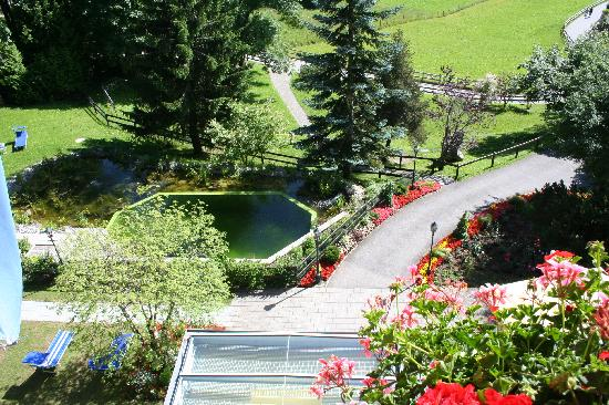 Beausite Park Hotel: View from Room to Bio Pool