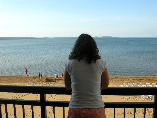 Parkshore Resort: Balcony view - nice!