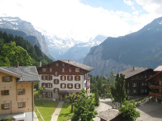 Hotel Bären: view from our window