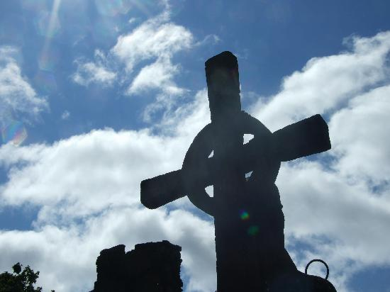 Redfoot Lea Bed and Breakfast: Celtic Cross