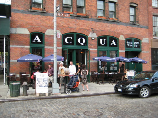 Acqua at Peck Slip: Acqua at South St. Seaport