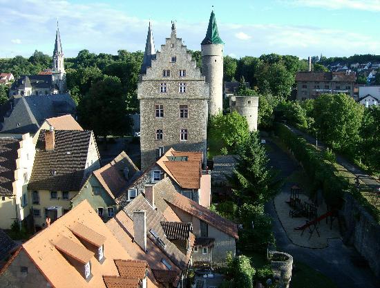Jugendherberge Ochsenfurt: Blick aus dem Turm