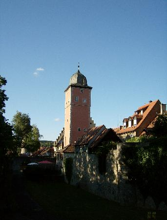 Jugendherberge Ochsenfurt: Blick auf den Turm