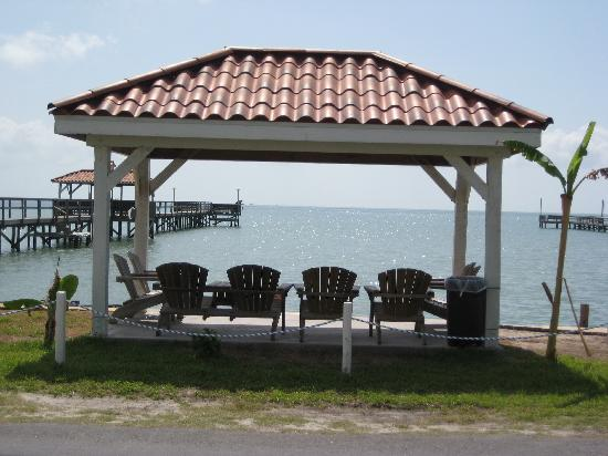 Pelican Bay Resort: View from private pier