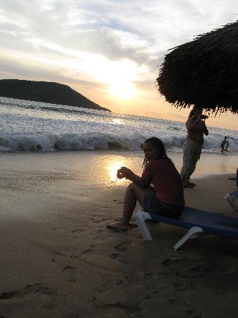 El Cid Castilla Beach Hotel: en la playa