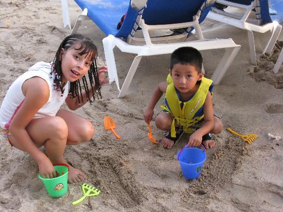 El Cid Castilla Beach Hotel: jugando con la arena