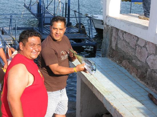 El Cid Castilla Beach Hotel: presumiendo la pesca??