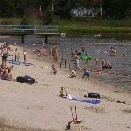 Gastehaus Sudheide: Am Strandbad kann an sich im Sommer wohlfühlen