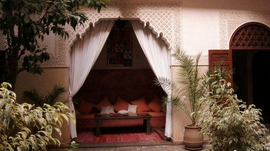 Riad Massiba: Resting lounge