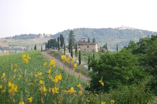 Under the Tuscan Moon: Villa on the hill