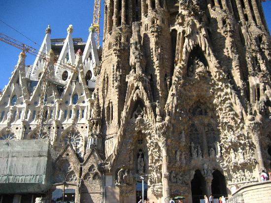 Gaudi cathedral picture of barcelona province of for Kathedrale barcelona gaudi
