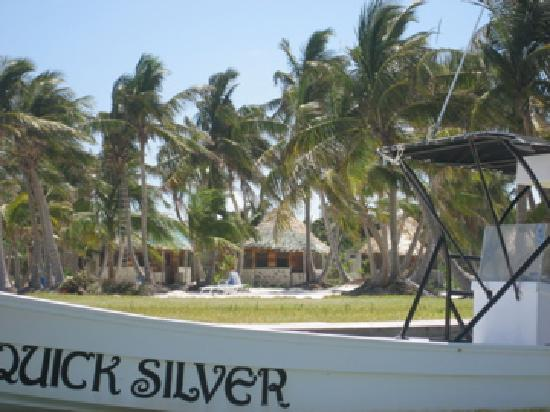 Costa de Cocos: The view from the water