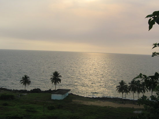 Monrovia, Liberia: View from the deck of LaPointe