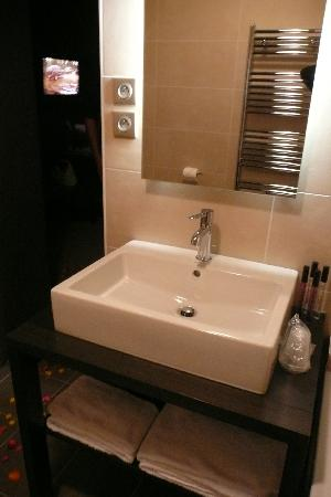 Hotel Les Rives: la chambre