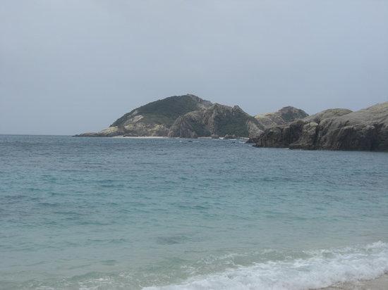 Okinawa, Japon : Tokashiku Beach