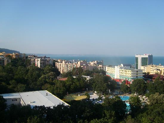 Hotel Varshava : The view from our room