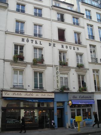 Hotel de rouen paris voir les tarifs 18 avis et 11 photos for Le garage rouen tarifs