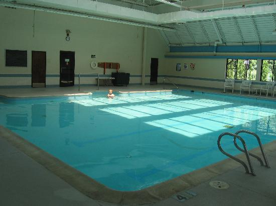 The English Inn of Charlottesville: They have one BIG indoor pool!