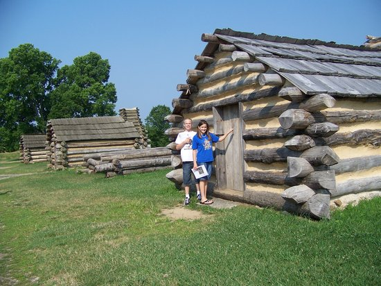 Valley Forge, PA: soilders quarters