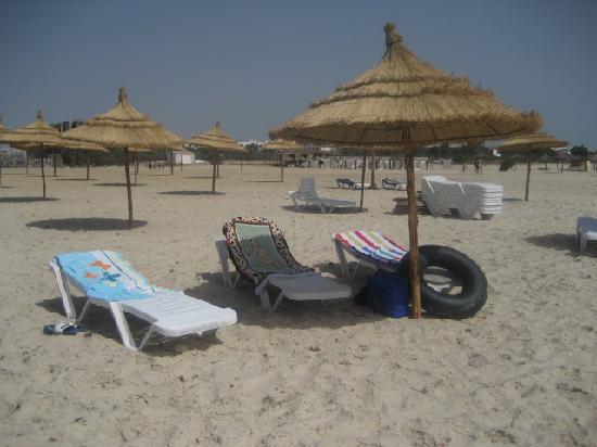 Marina Palace: Hoteleigener Strand