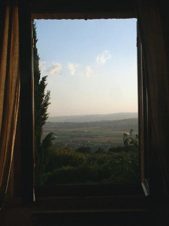 Agriturismo Le Colombe: the view from our bedroom window