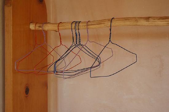 The Guadalupe Inn: Guadalupe Inn-SCARY hangers