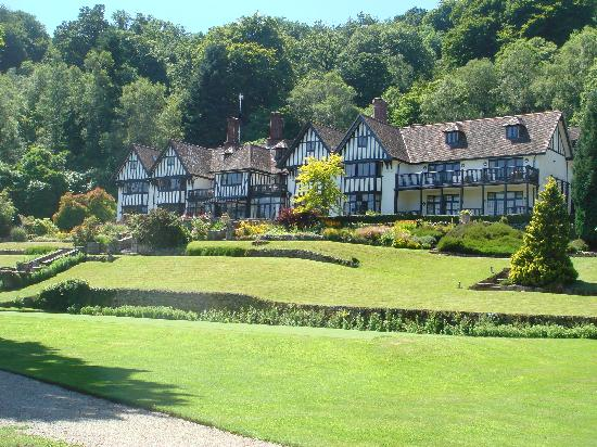 Gidleigh Park: As you approach the hotel