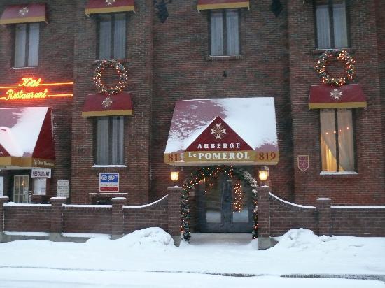 Auberge Le Pomerol : L'hôtel