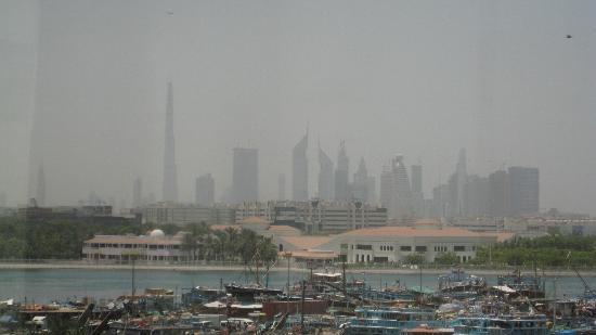 Hilton Dubai Creek: View from our room
