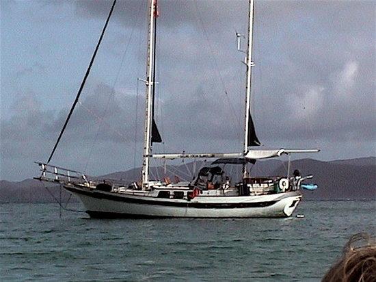 It's Amasing: Treazzure at anchor