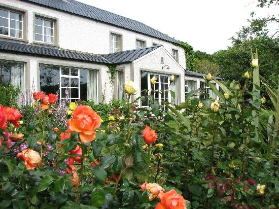 Dunfanaghy, Irland: The Mill and garden
