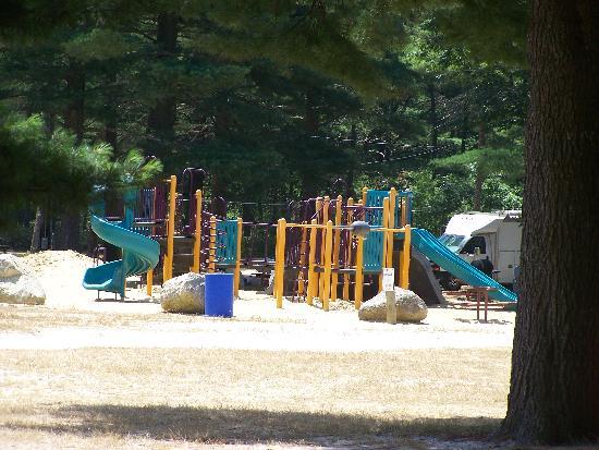 Ellis Haven Campground: playground