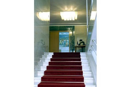 Vila Bled: Villa Bled - Stairs to the Ballroom