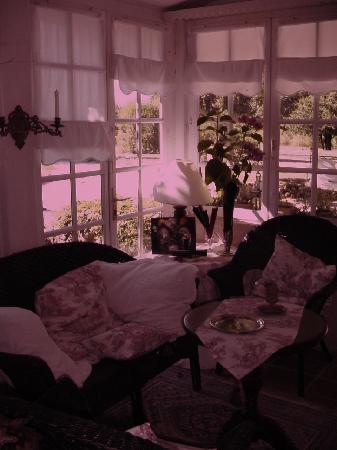 La Petite Clavelie : Le petit salon à coté de ma chambre