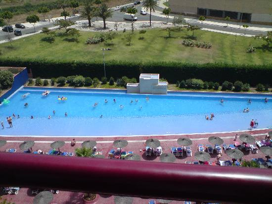 Balcony view of pool picture of myramar fuengirola hotel - Hotel with swimming pool on balcony ...