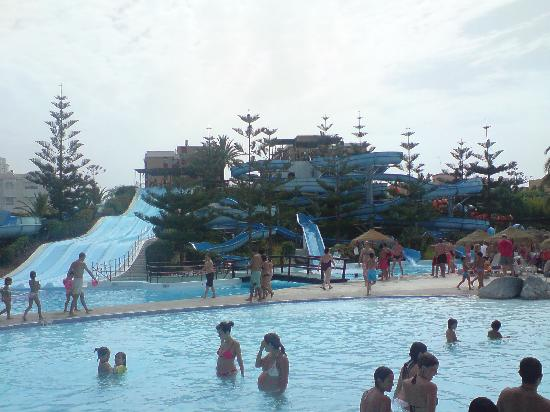 Myramar Fuengirola Hotel: Water park,amust for the kids and adults