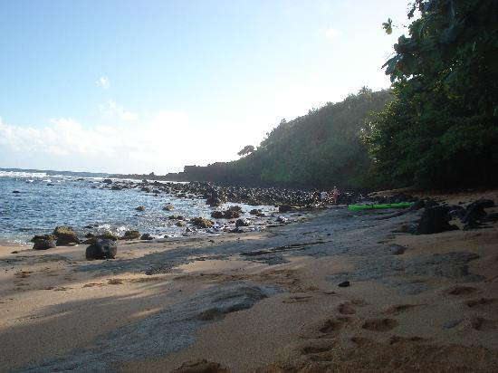 Marc at Princeville Pali Ke Kua: Hideaways beach facing east