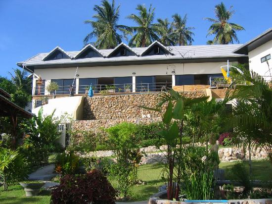 Pema Djougne : la maison (vue du bas)
