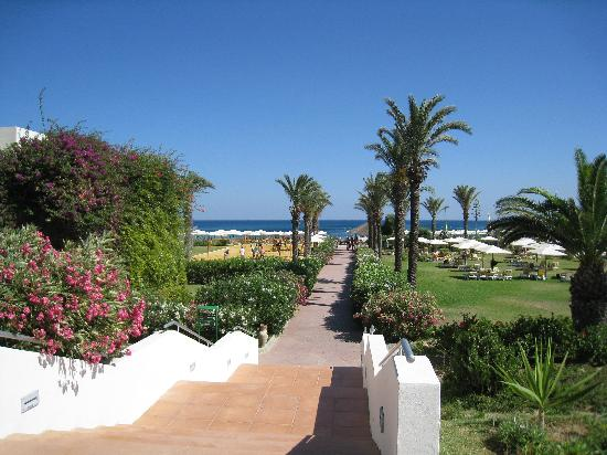 Delfino Beach Resort & Spa : les jardins