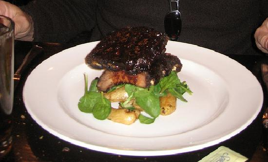 "Giuseppe's Cucina Rustica: ""Fancy"" ribs - tasty but small"
