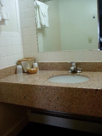 Knights Inn Palmyra/Hershey: Sepearate vanity area