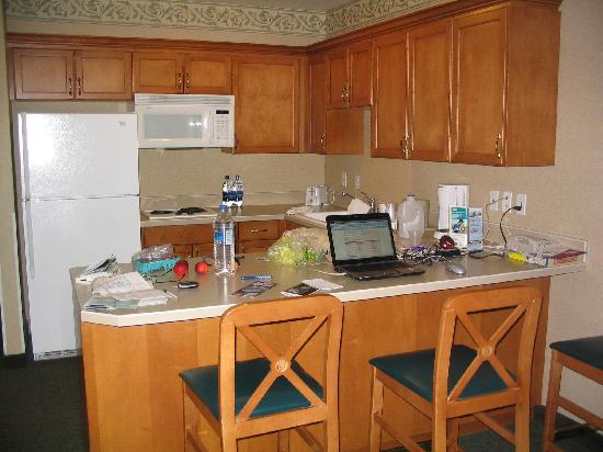 Ramada Olympia: Kitchen