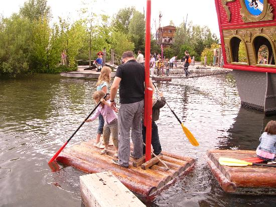 Zirndorf, Germany: Playmobil Pirate Raft